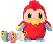 Угадай, кто внутри? Милая игрушка с большими глазами показывает язык, как будто дразнит нас!