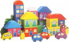 Красный домик с голубой крышей или фиолетовый с синей – что красивее?