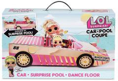 ЛОЛ машина-купе с бассейном и танцполом!