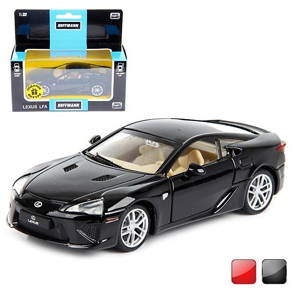 Hoffmann Машина металл. 1:32 59883 Lexus LFA,  дв. откр., инерц.