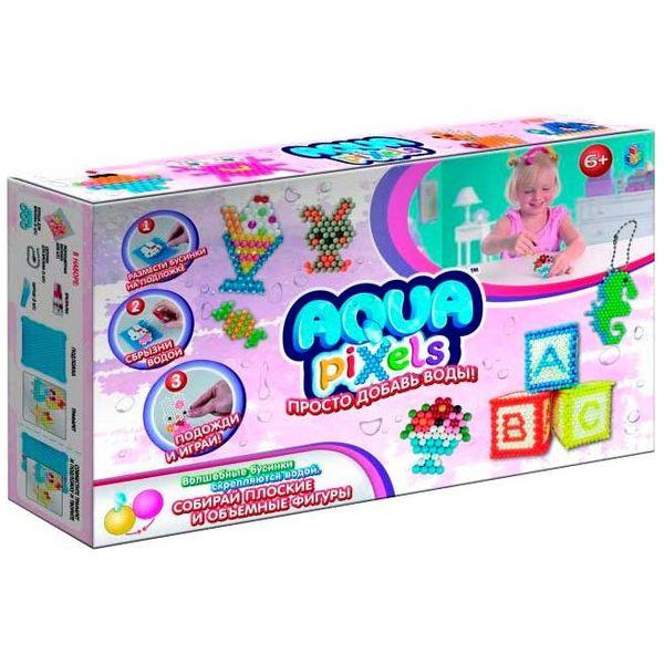 1Toy Aqua Pixels Т12337 Набор Принцессы 600 дет. 33х5х20см