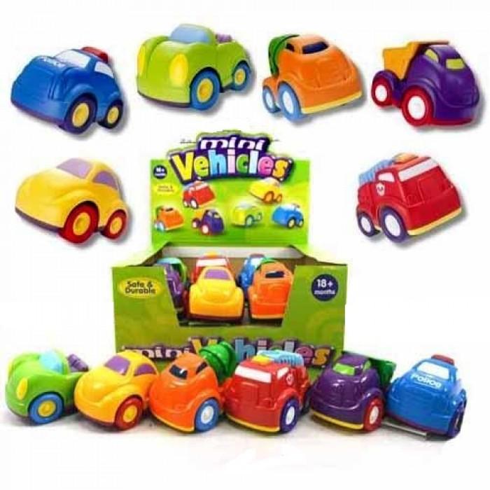 Bruder 30330 Машинки Mini Vehicles в ассорт., 24шт. в дисплее