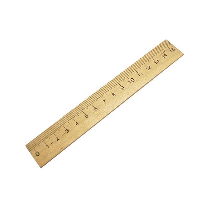 Creativiki Линейка деревянная, 15см
