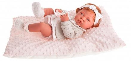 Antonio Juan 5034P Кукла-младенец Розарио в розовом, 42см