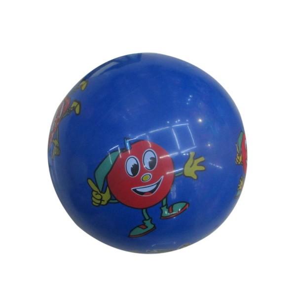 1Toy Мяч-пвх Т11612 22см, 60г, Фрукты, деколь