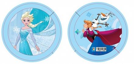 1Toy Мяч-пвх Т17386 Disney Холодное сердце, полноцв, 15см, 50г, бирка в. с