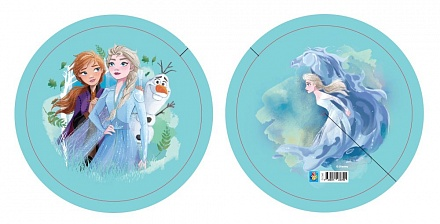 1Toy Мяч-пвх Т17397 Disney. Холодное сердце, полноцв., 23см, 90г, бирка в. с