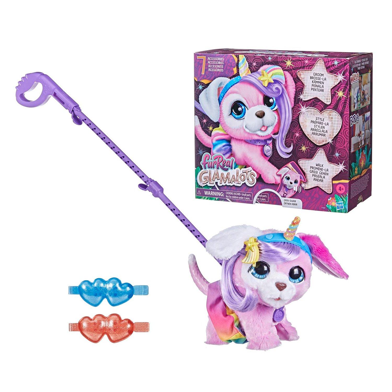 SALE* Hasbro. FurReal Friends 15445L0 Гламурный питомец на поводке