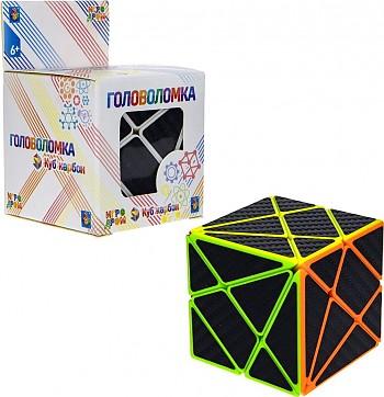 1Toy Головоломка Куб карбон треугольники 5. 5х5. 5, в. к 6х6х9см