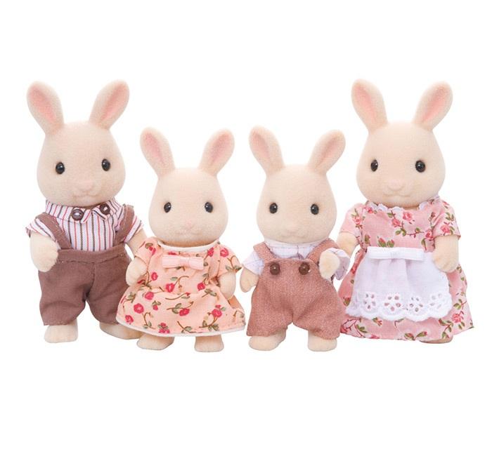 SALE* Sylvanian Families 3144 Набор Семья Молочных Кроликов