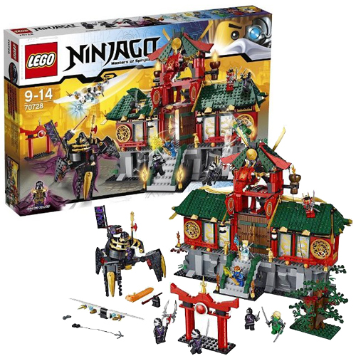 Lego Ниндзяго 70728 Битва за
