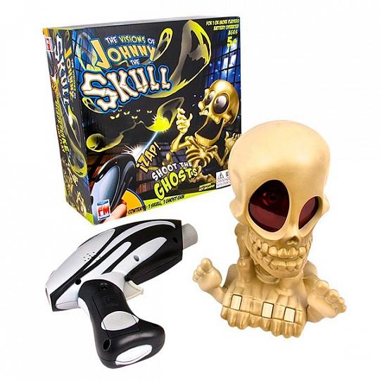 Johnny The Skull 0669 Тир проекционный Джонни-Черепок с 1 бластером