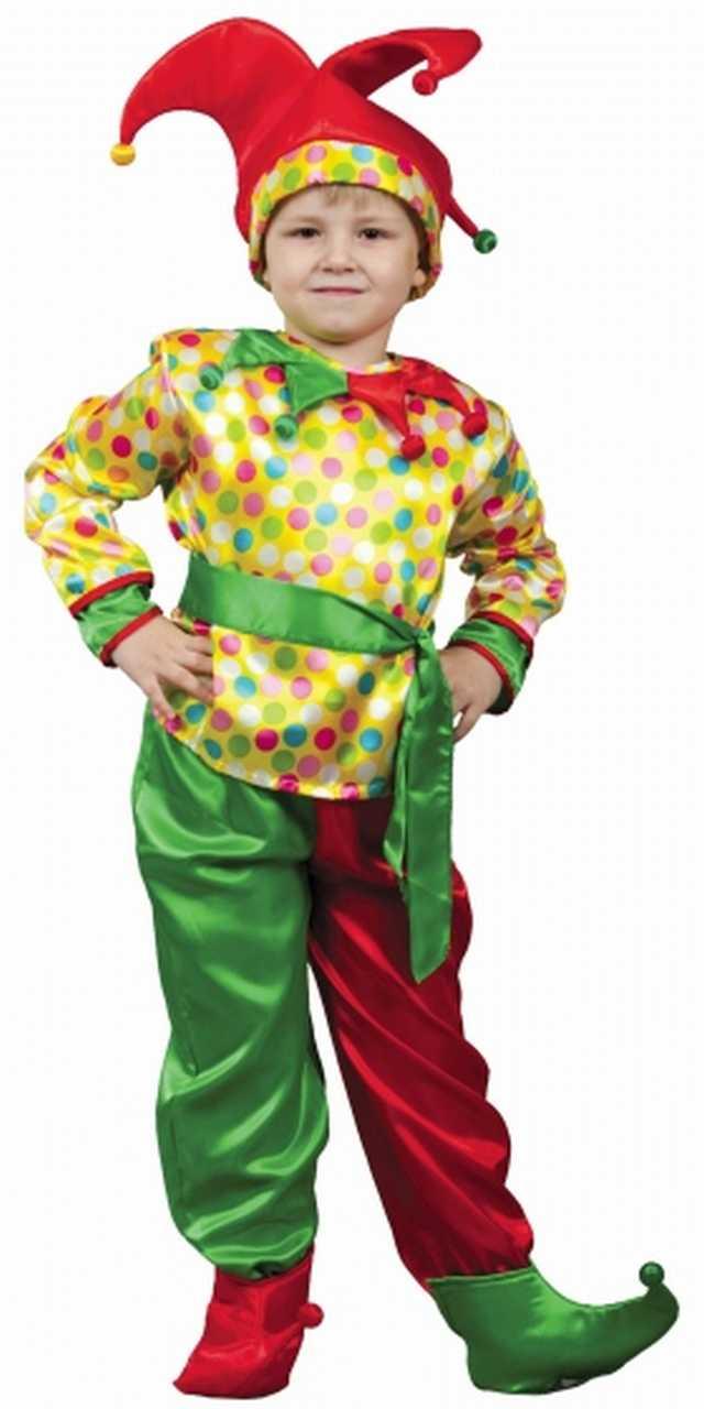 Как сшить костюм петрушки для мальчика своими