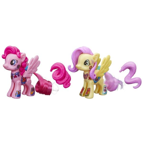 АКЦИЯ!!! Hasbro. My Little Pony 3589 Стильные пони Создай свою пони в ассорт.
