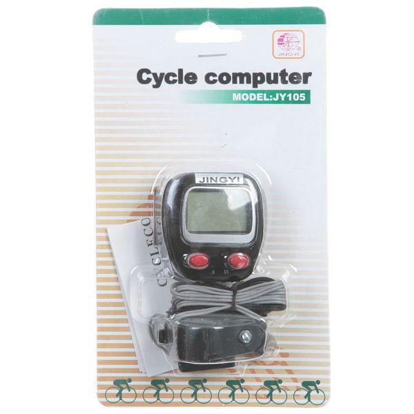 АКЦИЯ!!! Велокомпьютер CB-JY-105 (13 функций, 2-х строчный) Э74624