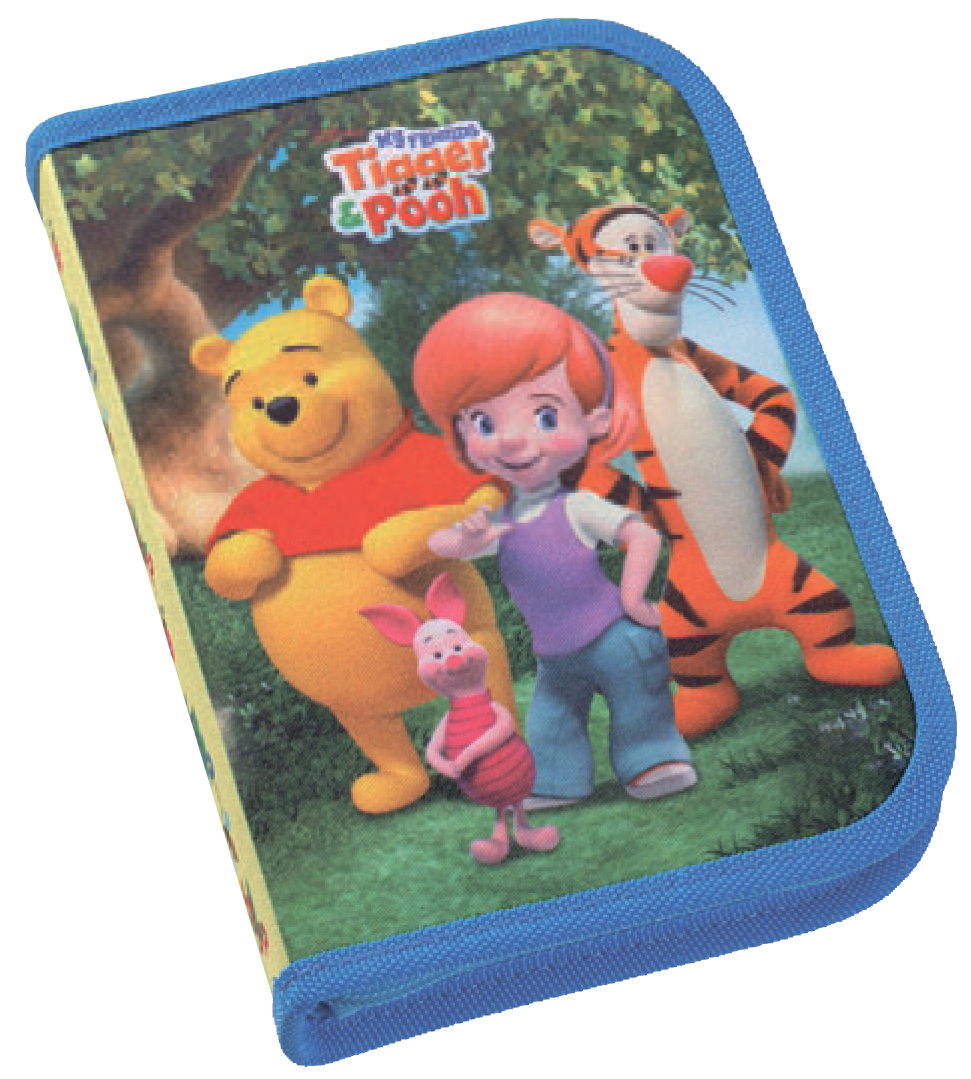 АКЦИЯ!!! ErichKrause  26866 Пенал My Friends Tigger and Pooh-2 Тип С нап