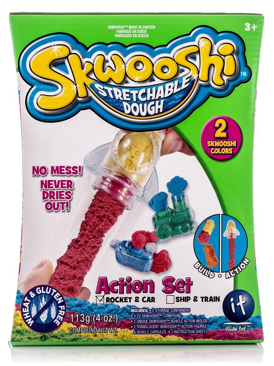 Skwooshi 30007S Набор для творчества Масса для лепки c формочками