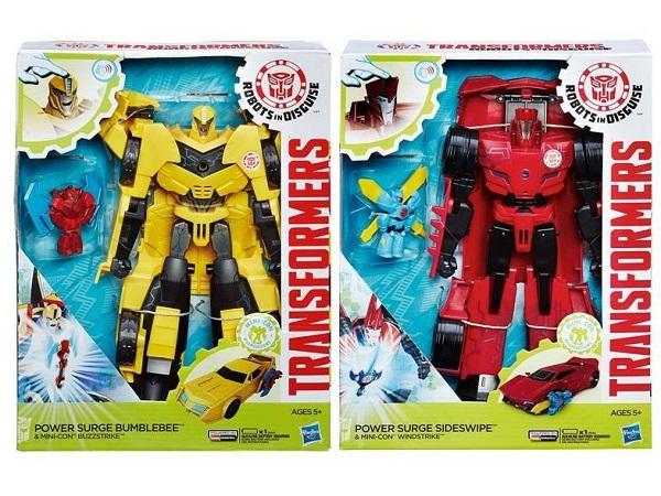 АКЦИЯ!!! Hasbro. Transformers 7067 Трансформеры Роботы под прикрытием: Заряженые Герои