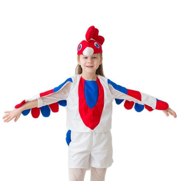 БОКА  Маскарад. костюм 1959 Петушок белый 3-5лет, рост 104-116