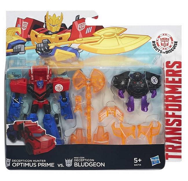 АКЦИЯ!!! Hasbro. Transformers 4713EU0 Трансформеры роботы под прикрытием: Миниконы Бэтл-Пэкс