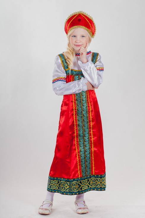 Костюм русская красавица