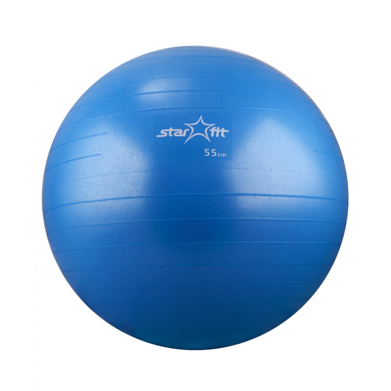 АКЦИЯ!!! Мяч гимнастический STARFIT Pro GB-103 55 см, ультрамарин (антивзрыв) 1. 12, Код ТН ВЭД 9506620000