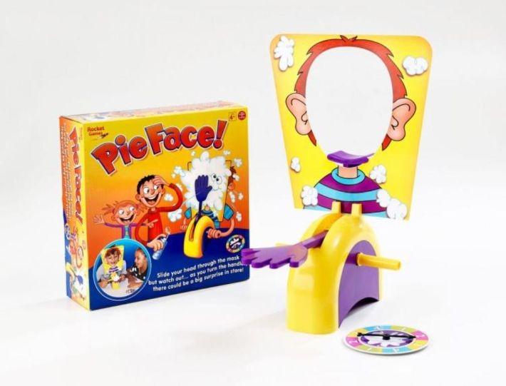 ABtoys РТ-00650 Игра настольная Торт в лицо 26,5x8x26,5см в. к