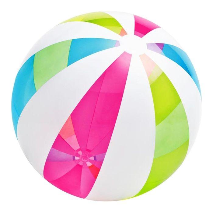 ИНТЕКС Мяч пляжный 107см от 3лет (59066)
