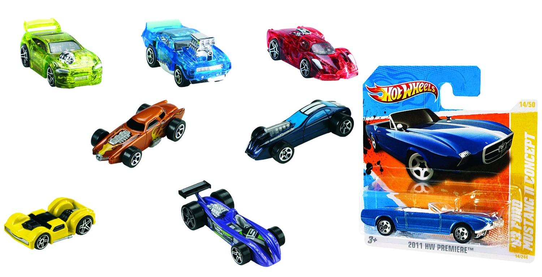 Hot Wheels 5785 Машинки базовой коллекции в ассорт.