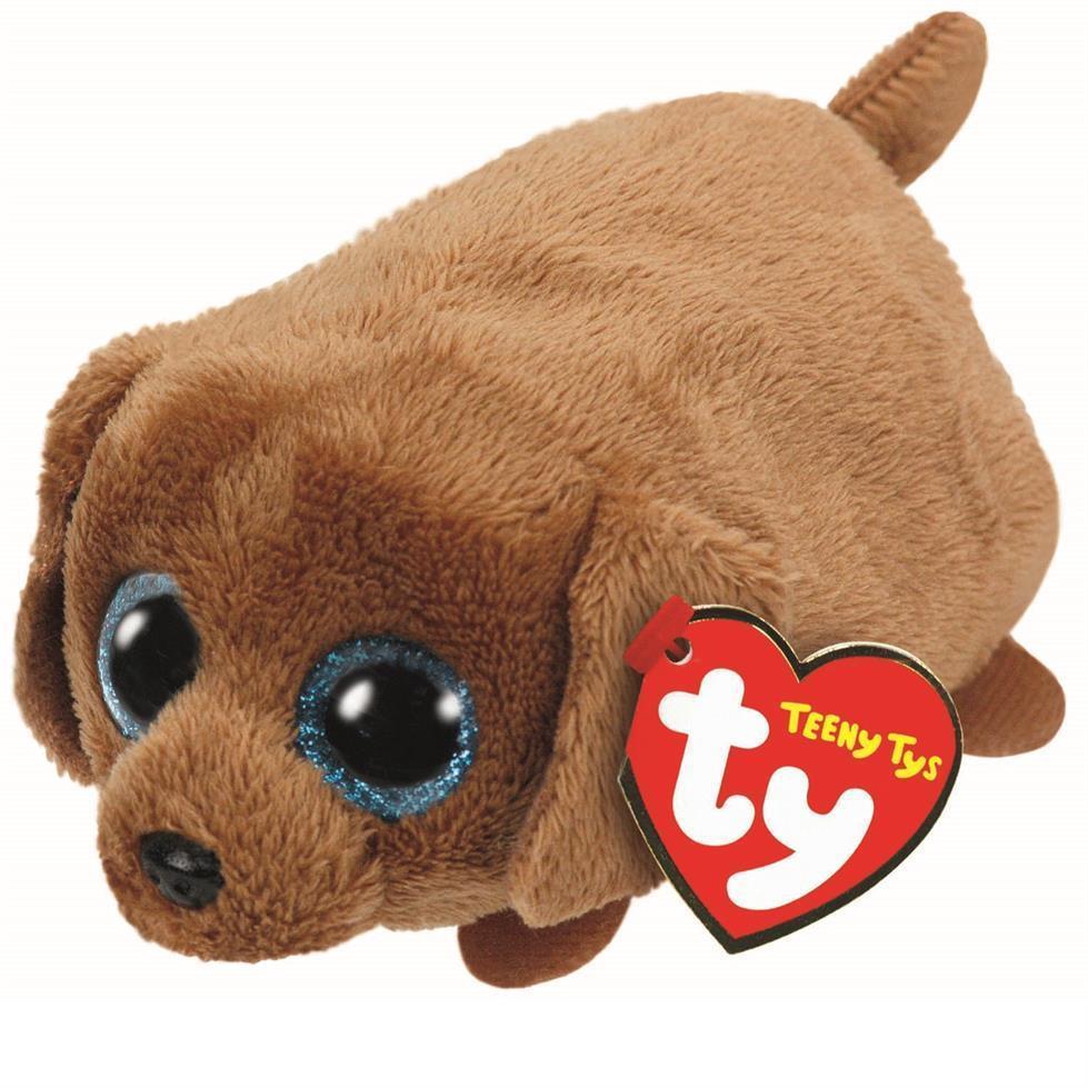 TY  Teeny Tys 42214 Щенок (коричневый) Spangle, 10см