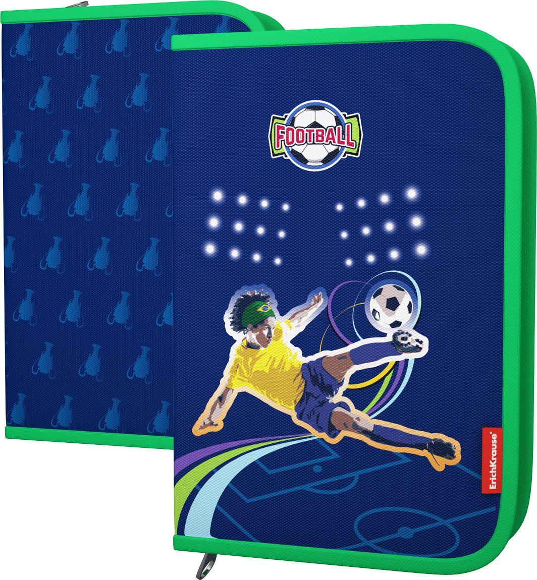 АКЦИЯ!!! ErichKrause  42444 Пенал-книжка Football с одним отд. б. нап, 135*205*30мм