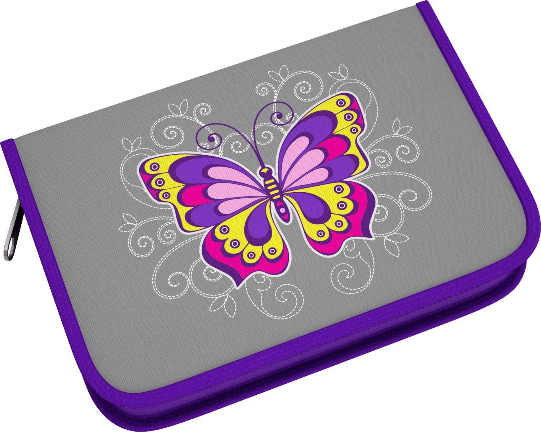 SALE* ErichKrause  39799 Пенал-книжка Fairy Butterfly с одним отд., доп створкой с нап., 135х205х33мм