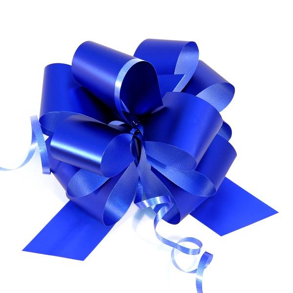 Pioneer-упаковка 44911 Бант-шар (10шт в наборе) 30х1000мм, метал. синий
