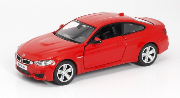 RMZ Машина мод. 554035 City 1:32 BMW M4 Coupe with Strip инерц. 2цв. в ассорт. (золотистая. красная) 12,60х4,83х3,57см