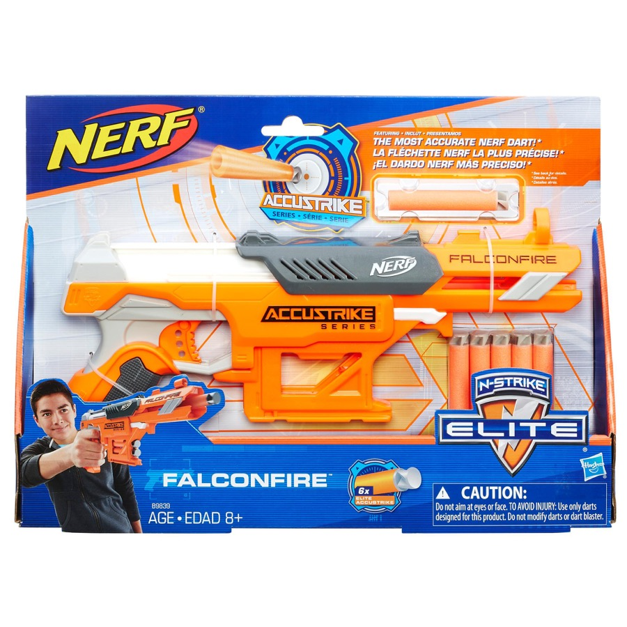 SALE* Hasbro. Nerf 9839EU4 Бластер Аккустрайк Фалконфайр