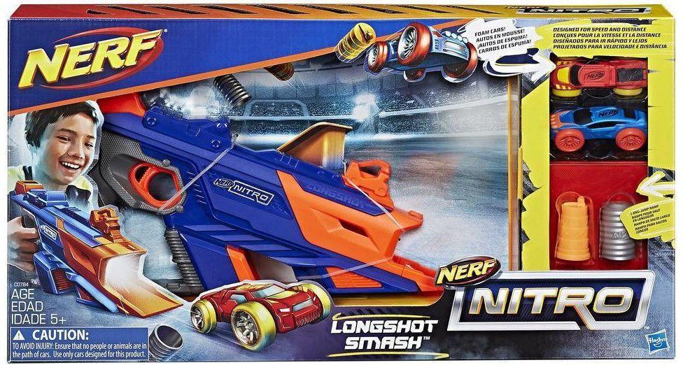 Hasbro. Nerf 0784C Nitro Лонгшот