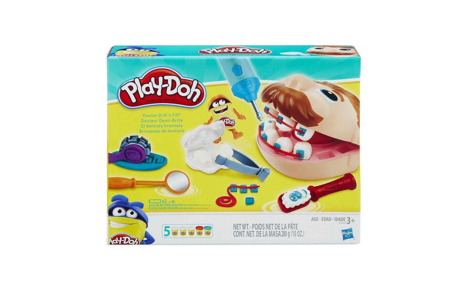 АКЦИЯ!!! Hasbro. Play-Doh 5520121 Набор Мистер Зубастик