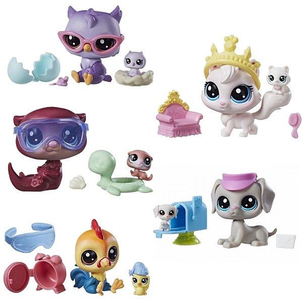 SALE* Hasbro. Littlest Pet Shop 9358В Набор два пета обн