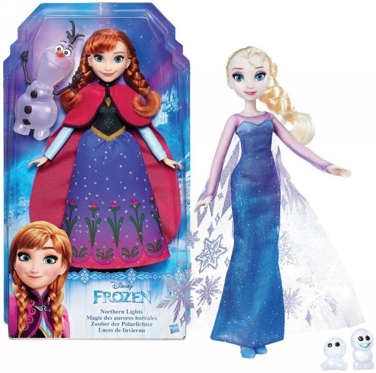 Hasbro. Disney Frozen 9199В Кукла Анна и Эльза с друзьями