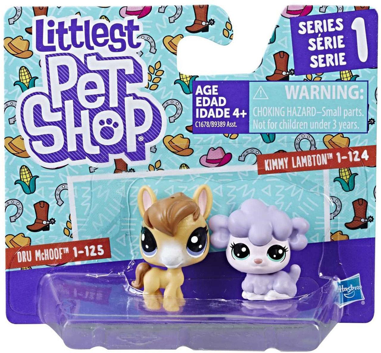 АКЦИЯ!!! Hasbro. Littlest Pet Shop 9389В Фигурка в наборе, 2шт.