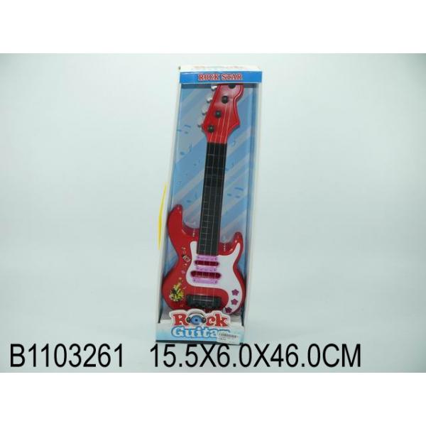 Гитара 363-1A цвет в ассорт. в. к 46*15,5*6см в кор. 2*30шт B1103261