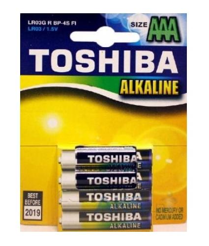 Toshiba  AAA LR03 BL-4 4. 48. 192