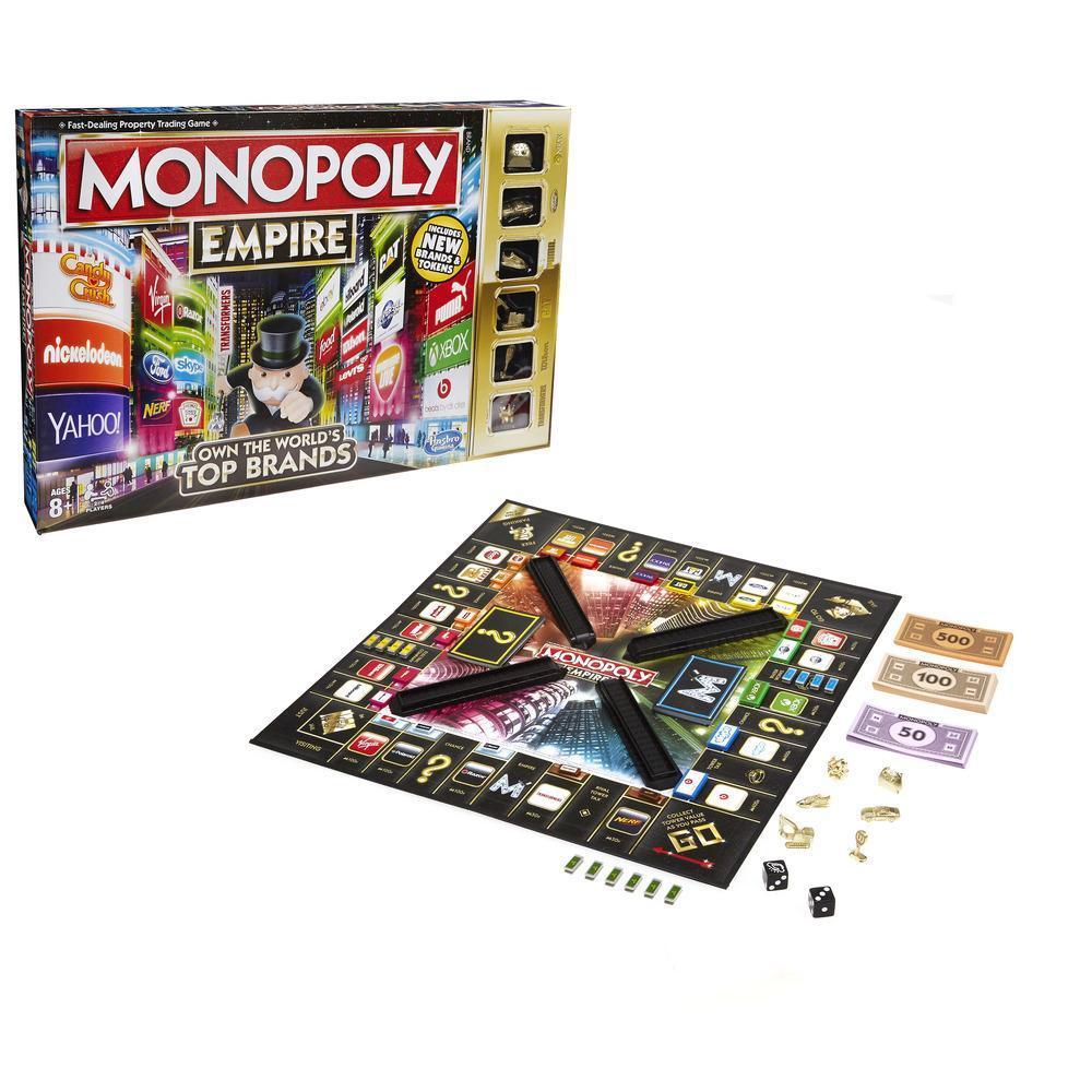 Hasbro. Games 5095 Игра Монополия Империя (обновленная)