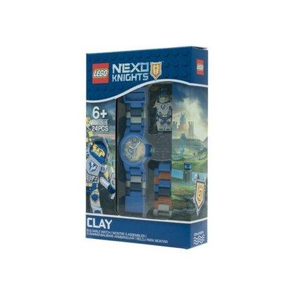 Lego  Нексо 8020516 Наручные часы Nexo Knights Клай, с минифигуркой