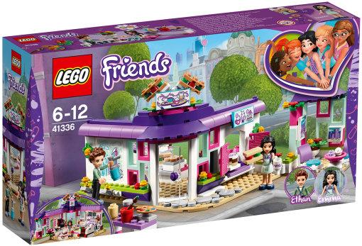 Lego  Подружки 41336 Арт-кафе Эммы