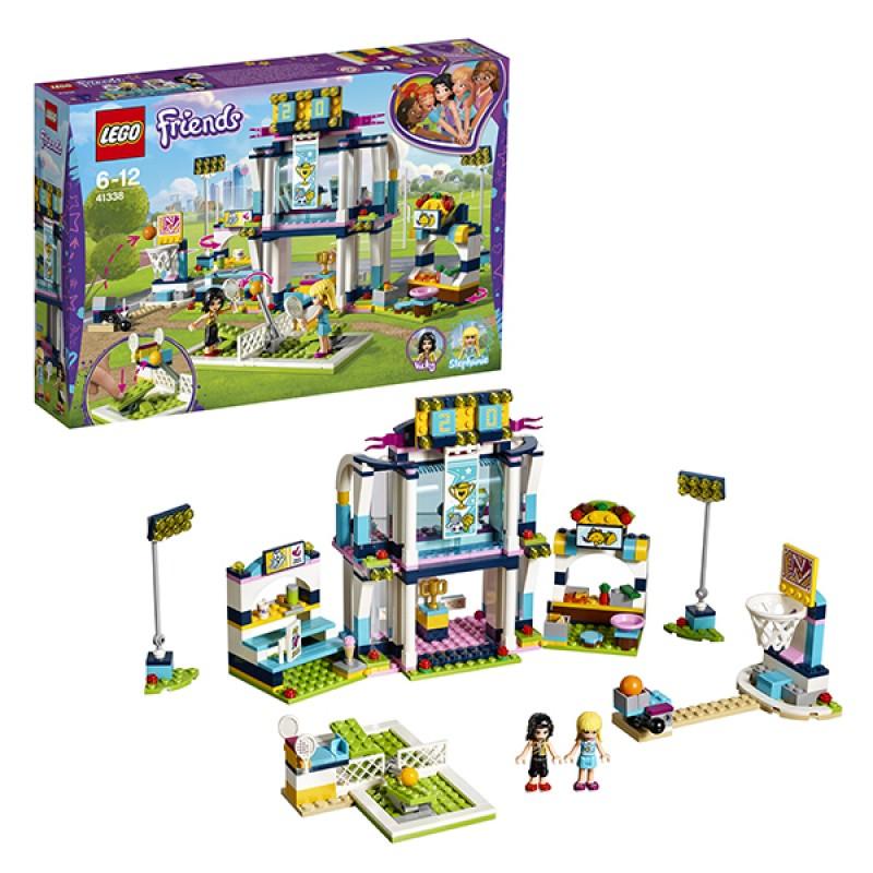 Lego  Подружки 41338  Спортивная арена для Стефани