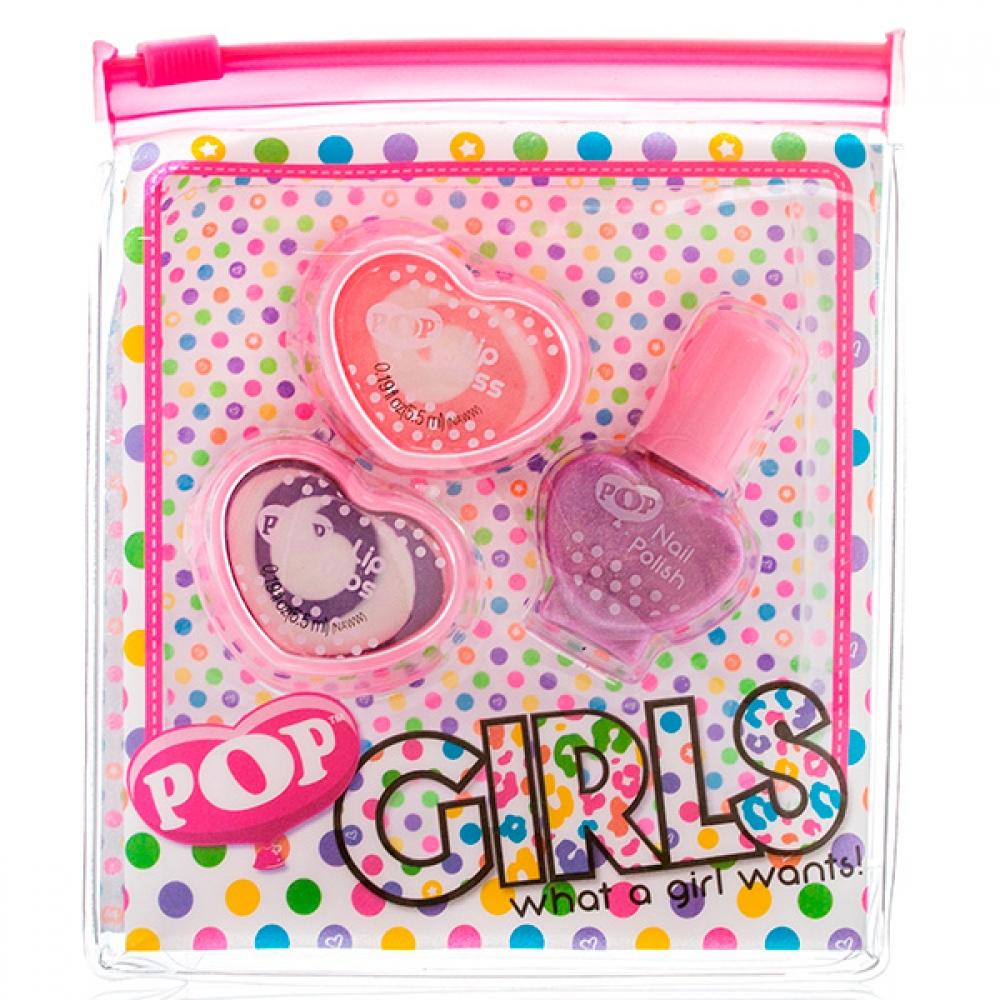 Markwins 3605051 Pop Набор детск. декоративной косметики для губ и ногтей
