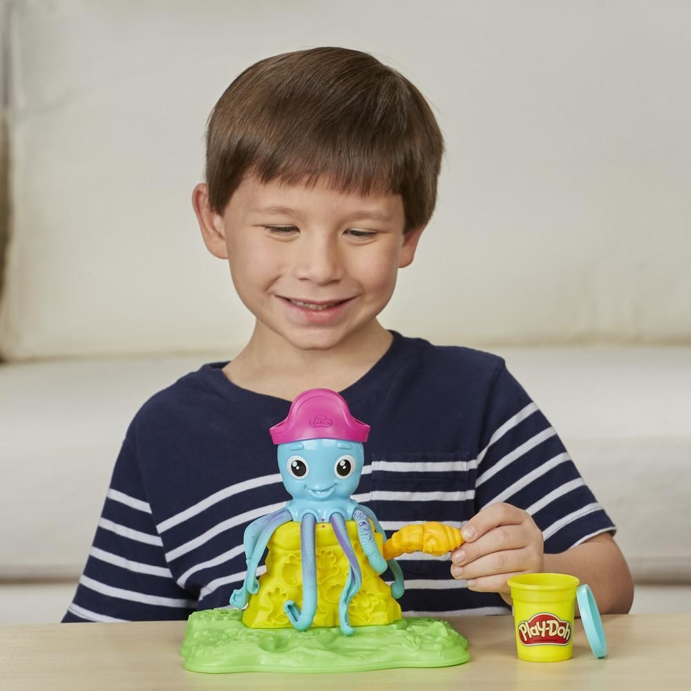 SALE* Hasbro. Play-Doh E0800 Веселый Осьминог