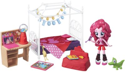 Hasbro. My Little Pony 8824B Equestria Girls, Игровой набор мини -кукол Пижамная вечеринка в ассорт.