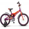 Велосипед 18д. Stels Jet Z010 (10д. фиолетовый. оранжевый 2020 (LU087404)